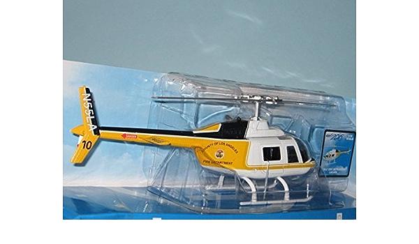 1:34 Metallo pressofuso Police Elicottero Bell 206 Die Cast NewRay 26073 Polizia