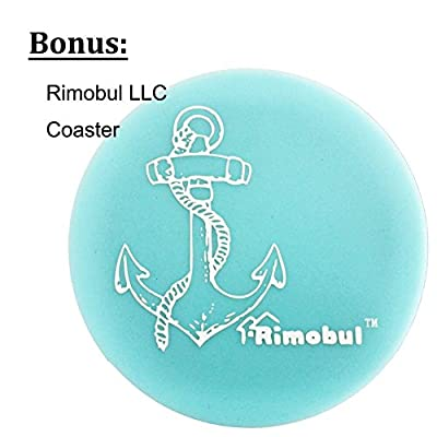 Rimobul Yorkie Pet Hair Bows Rubber Bands - Pack of 50 by Rimobul