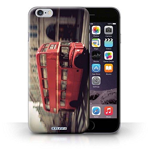 Kobalt® Imprimé Etui / Coque pour iPhone 6+/Plus 5.5 / Tower Bridge conception / Série Londres Angleterre Rouge Bus
