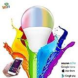 YANKAN Link Smart Wifi Hue Glühbirne, e27, 11w, Arbeitet mit Amazon Alexa (Echo und Echo-Dot), Google-Startseite und IFTTT, Dimmbare Weich Warmweiß, Kein Hub Erforderlich
