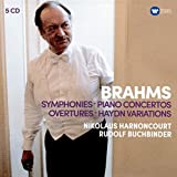 Brahms: Piano Concertos, Overtures, Haydn Variations (Coffret 5 CD)