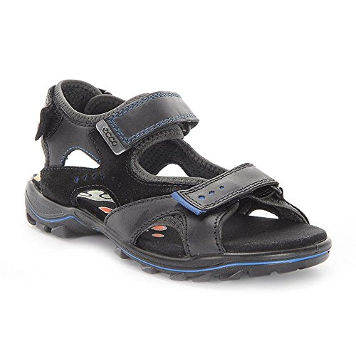 Ecco Kinder Sandale Urban Safari Kids 732113, schwarz (Black/Black Dark Shadow 58813), EU (39, schwarz)