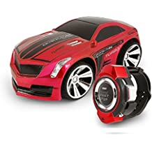 Comando Vocale Auto, Megadream Smart Watch Voice Control 2.4 G Frequenza batteria Creative RC auto con freni e Dazzling Fari voce ON/OFF per bambini studenti giocattoli regali - Ford Racing Mustang Ruote