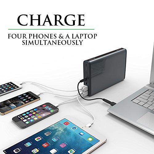 MAXOAK-Gran-Capacidad-50000mah-Power-Bank-Batera-Externa-Cargador-Porttil-para-Ordenador-porttil-Notebooks-Sony-Dell-HP-Lenovo-ToshibaSamsungIBMtabletasMvilesSmartphonesNo-para-Apple-Mac-porttil