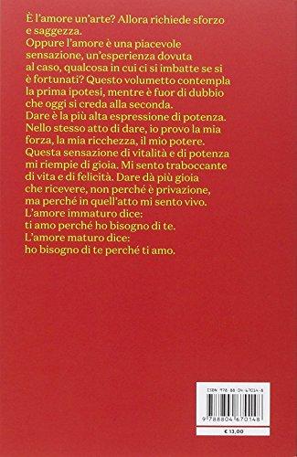 l arte di amare erich fromm  Libro L'arte di amare di Erich Fromm