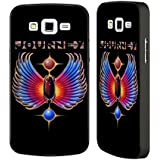 Official Journey Winged Scarab Logo Black Aluminium Bumper Slider Case for Samsung Galaxy Grand 2