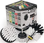 Drillbrush 3 Piece Drill Brush Cleaning Tool Attachment Kit for Scrubbing/Cleaning Tile, Grout, Shower, Bathtu