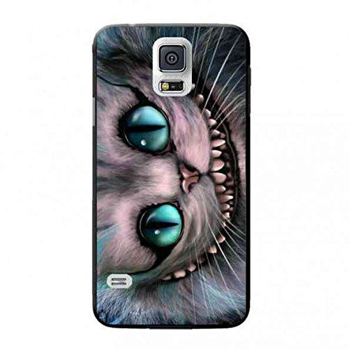 Alice In Wonderland Handyhülle.Grinsekatze Handyhülle.Samsung Galaxy S5 Handyhülle.Cheshire Cat Handyhülle -