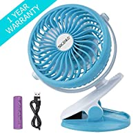 BRIGENIUS Baby Fan Clip On Stroller Fan Pram Fan Buggy Fan for Pushchair