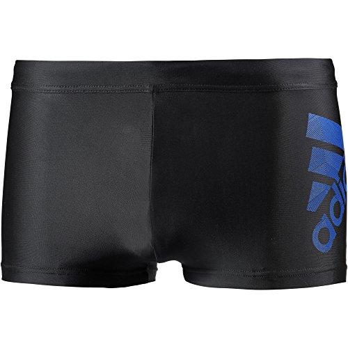 Adidas CW4837 Short de Bain Homme, Noir/Bleu, FR : M (Taille Fabricant : 6)