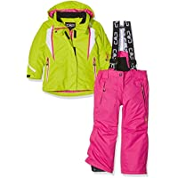 CMP 3W05265 Set da sci per ragazza (giacca e pantalone), Verde, 98