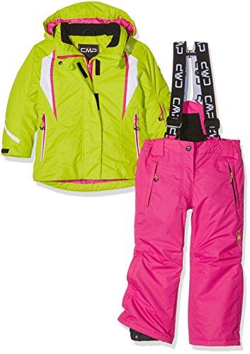 CMP 3W05265 Set da sci per ragazza (giacca e pantalone), Verde, 152