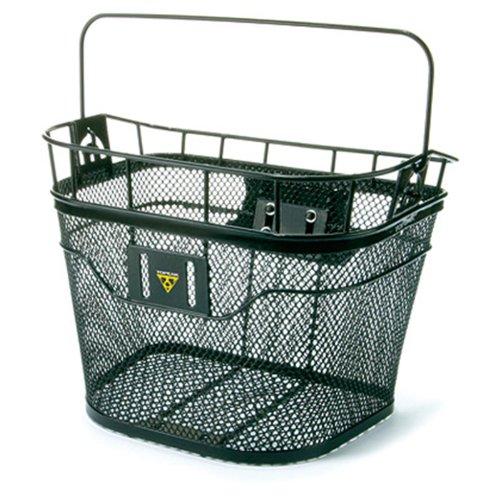 TOPEAK MTX Basket Front Fahrrad Korb Vorne Metall Einkauf Gepäckträger MTX System 40,5x33,5x24,1 cm, 15002087 - Topeak Fahrrad-korb