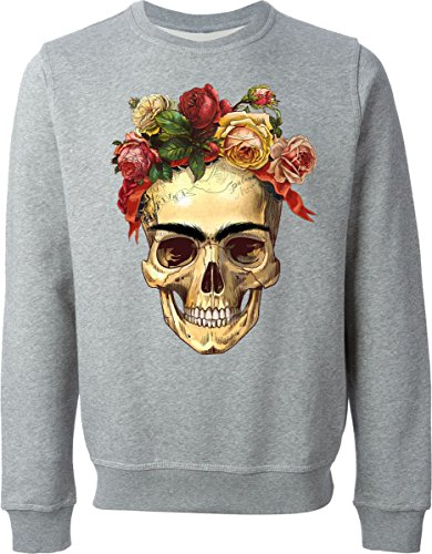 Death Rose Gray Sweater (S)