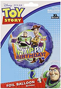 46cm ballon Happy Birthday Disney Pixar Toy Story – en aluminium