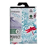 Brabantia Ironing Board Cover with 2 mm Foam - 135 x 45 cm, Extra Large, Botanical Dragonfly