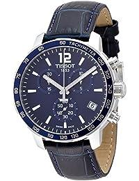 38bbb734af7 Tissot T095.417.16.047.00 Men Stopwatch Watch with Blue Dial Analog -  Digital