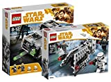 LEGO Star Wars Moloch's Landspeeder 75210 Star Wars Spielzeug + LEGO Star Wars Imperial Patrol Battle Pack 75207 Star Wars Spielzeug