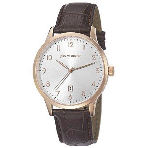 Pierre Cardin pc106671f05 - Reloj para hombres color marrón