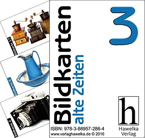Bildkarten 3 (50 Aktivierungskarten - alte Zeiten) - ideal in der Altenpflege, Geriatrie und Heimbetreuung, Biografiearbeit, Sprachförderung, Pädagogik, Therapie - im Spielkarten-Etui