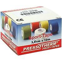 Pressotherm Sport-tape 3,8cmx10m weiss 1 stk preisvergleich bei billige-tabletten.eu