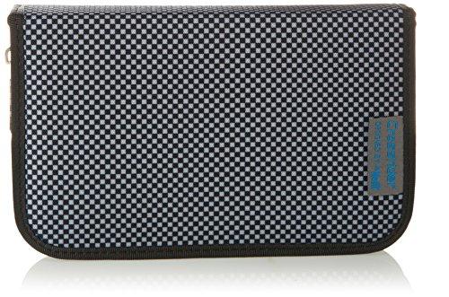 Preisvergleich Produktbild Mc Neill 9072166000 - Etui Crossrider gefüllt mit 1 Klappe, schwarz/weiß kariert