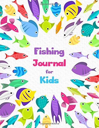 Fishing Journal for Kids: Writing Prompts Journal Record Experiences Activity (Children Activity Book, Band 1)