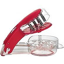 vzer cocina Gadget zigzag de acero inoxidable Cuchillas deshuesador de aceitunas ...