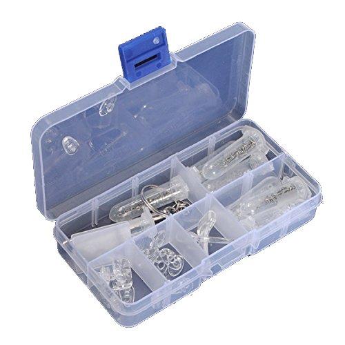 aikesi Brille Kit optische Reparatur Werkzeug Schrauben-Sortiment Muttern