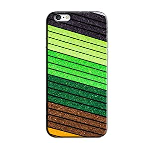 SHADES OF GREEN BACK COVER FOR IPHONE 6 PLUS