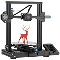 WOL3D Creality Ender 3 V2 3D Printer, 2021 Newest FDM All Metal 3D Printers Kit with Upgraded Silent Motherboard…