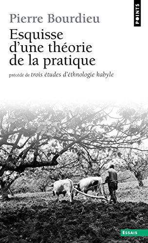 Esquisse D'une Theorie De La Pratique par Pierre Bourdieu