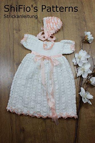 Strickanleitung Kp213 Taufkleid Für Babys Und Mütze In 3 Größen
