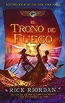 El Trono de Fuego par Riordan