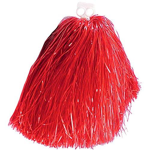 pon pon da cheerleader di colore rosso piumino per la danza