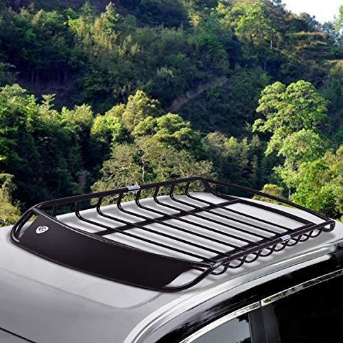 Zoom IMG-1 costway cestello portapacchi universale cesto