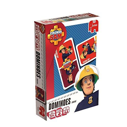 feuerwehrmann sam memory Jumbo Spiele 19402 Jumbo 19402-Fireman Sam Domino Kartenspiel