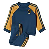 adidas Kinder Juventus 3-Streifen Trainingsanzug, Blunit/Tacyel, 98 EU