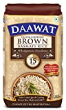 #2: Daawat Brown Basmati Rice, 1kg, Poly Pouch