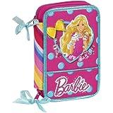 Barbie - Plumier doble pequeño (Safta 411410054)
