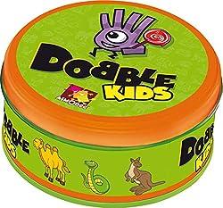 Asmodee D0KI01DE - Dobble Kids, Reaktionsspiel, Deutsch