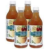 #10: HealthKart Apple Cider Vinegar with Mother Pack of 4, 0.5 L Unflavoured