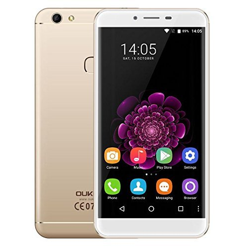 Oukitel U15S - Android 6.0 4G smartphone 4GB RAM 32GB Octa Core 1.5GHz 5.5 pulgadas FHD IPS Pantalla 8MP +...