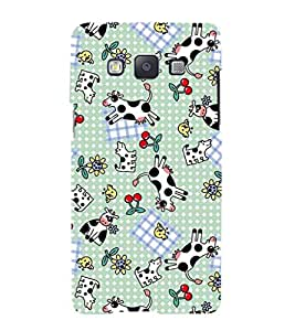 Fuson Premium Printed Hard Plastic Back Case Cover for Samsung Galaxy A5