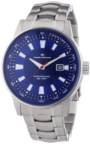 Tom Tailor Herren-Armbanduhr XL Analog Quarz Edelstahl 5412603