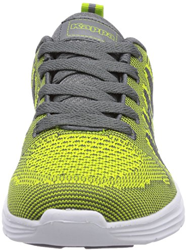 Kappa  FENIX Footwear unisex, Sneakers basses mixte adulte Vert - Grün (3316 lime/grey)