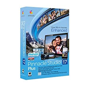 Vollversion Pinnacle Studio Plus / Version 17 / Windows / Multi Language / CD Mini box