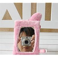 Preisvergleich für Baby-lustiges Spielzeug Kids Infant Schöne Quadratische Form Roll Hand Greifen Spiegel Spielzeug Bunte Sicherheit Spiegel Geschenk