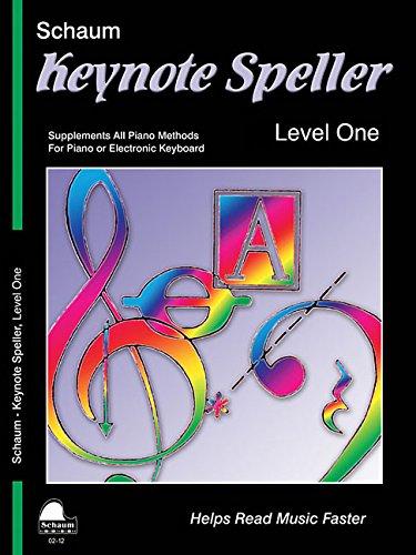 Keynote Speller: Level 1 (Schaum Publications Keynote Speller)