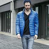 GK-Court paragraphe Down jacket hommes et femmes cols bleus?sapphire?L